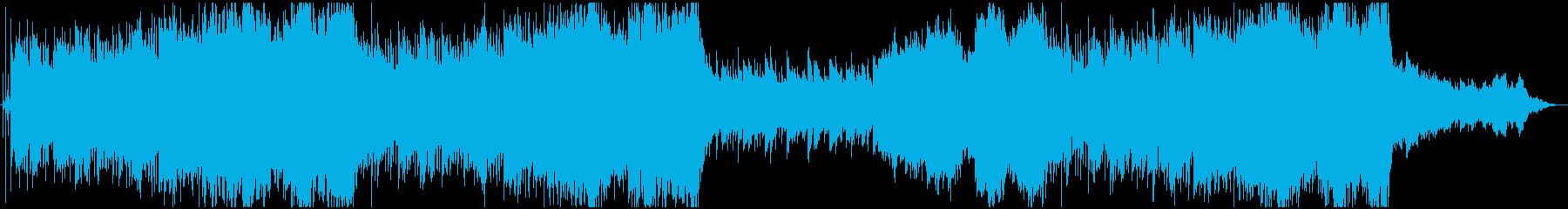 ゆったりとしたエキゾチックな曲です。の再生済みの波形