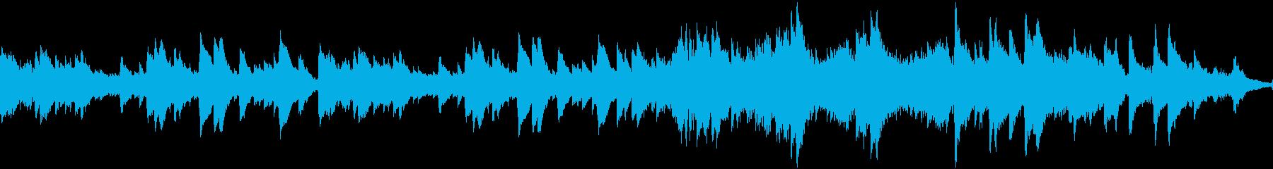 チェレスタの切ない小曲・ループの再生済みの波形