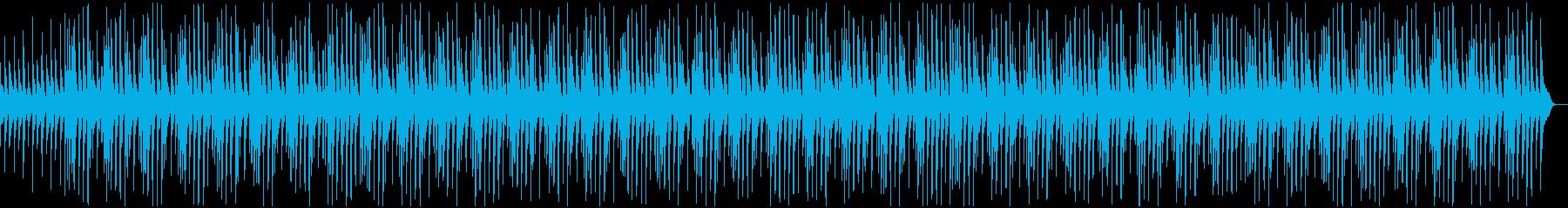 かわいい、コミカル、CMの再生済みの波形