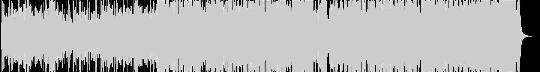 ジングルベルのオーケストラアレンジ版4の未再生の波形