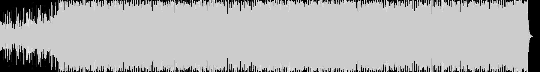 ノリの良いのフェス系EDMの未再生の波形