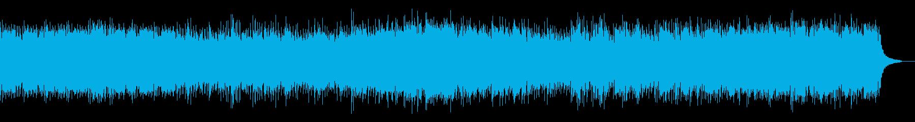 Cメジャーのみの明るく優しいピアノ曲の再生済みの波形