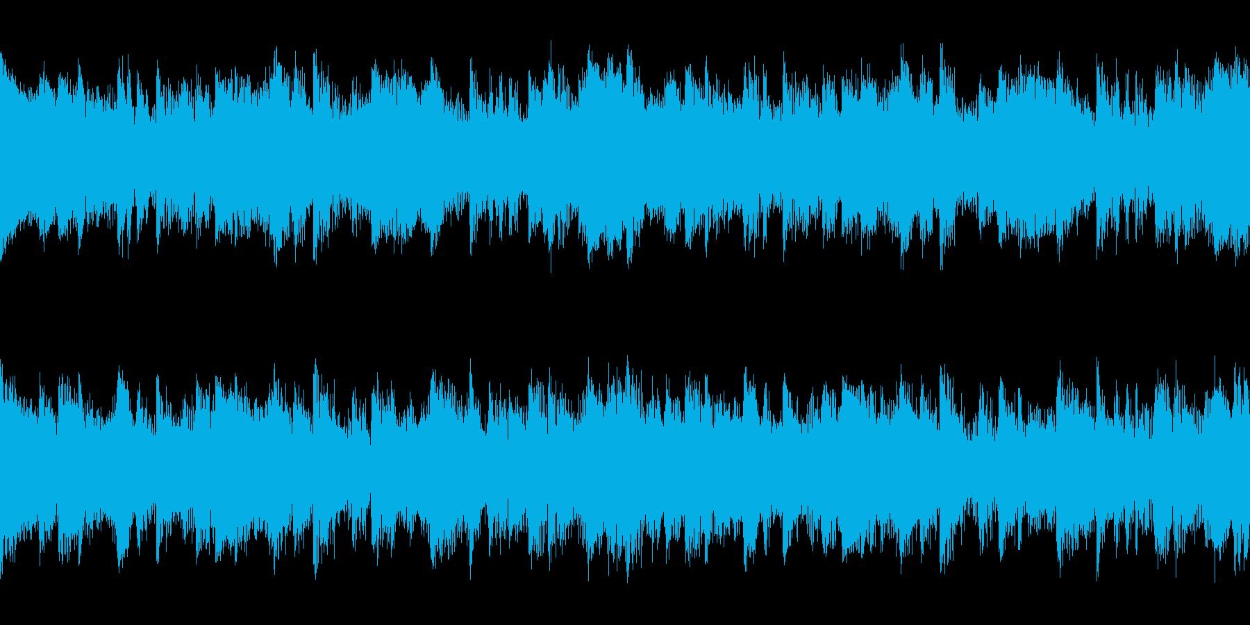 短ループ・ダンス・かっこいいの再生済みの波形