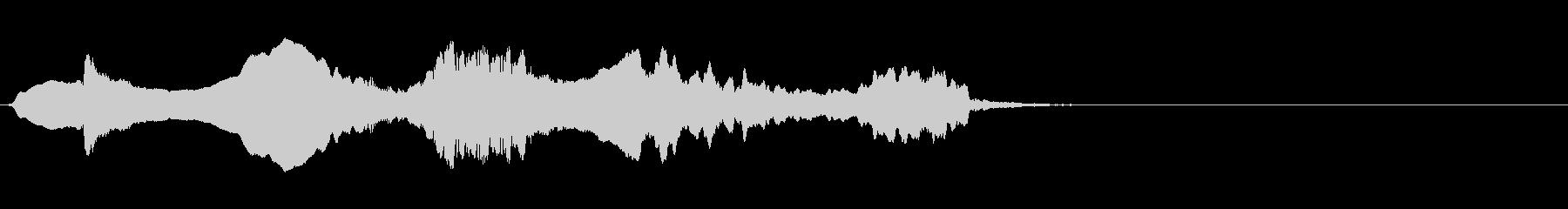 尺八 生演奏 古典風 残響音有 #3の未再生の波形