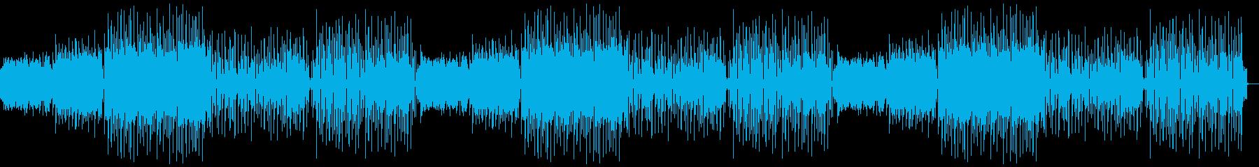閉店BGM向け蛍の光アレンジ音素材01の再生済みの波形