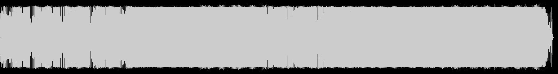 ゲンキでパワフルな曲の未再生の波形
