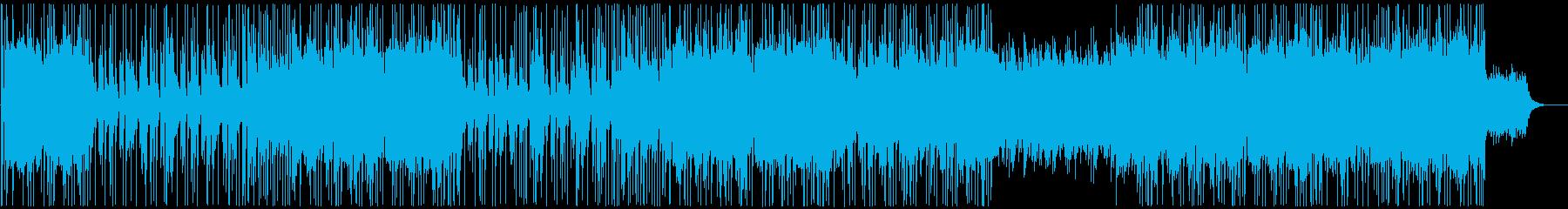 アメリカンなカントリーポップの再生済みの波形