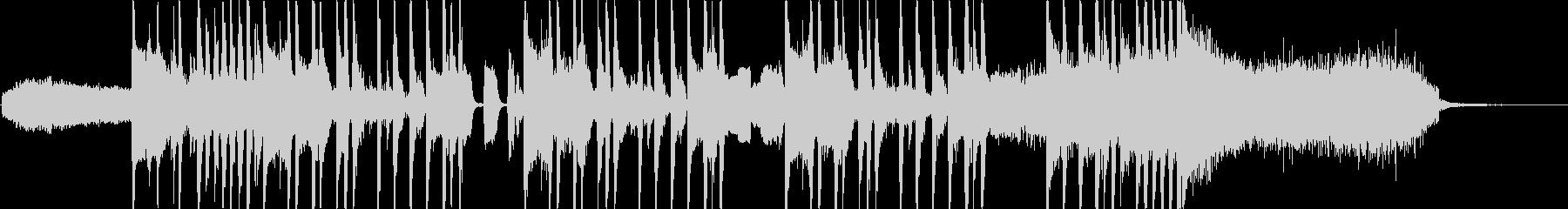 CMや場面転換に合うファンキーサウンドの未再生の波形