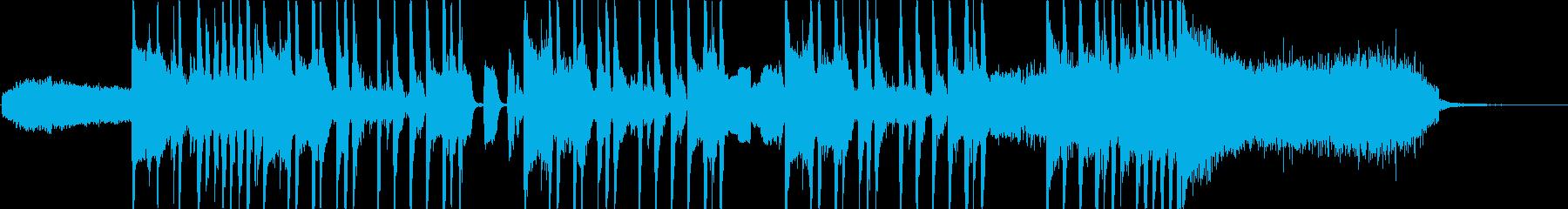 CMや場面転換に合うファンキーサウンドの再生済みの波形