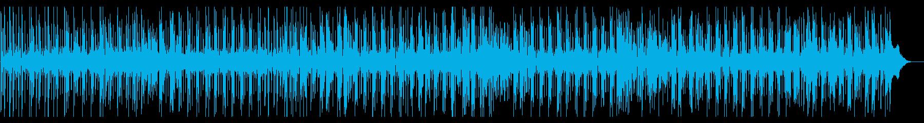 60年代モータウン風のファンクジャズの再生済みの波形