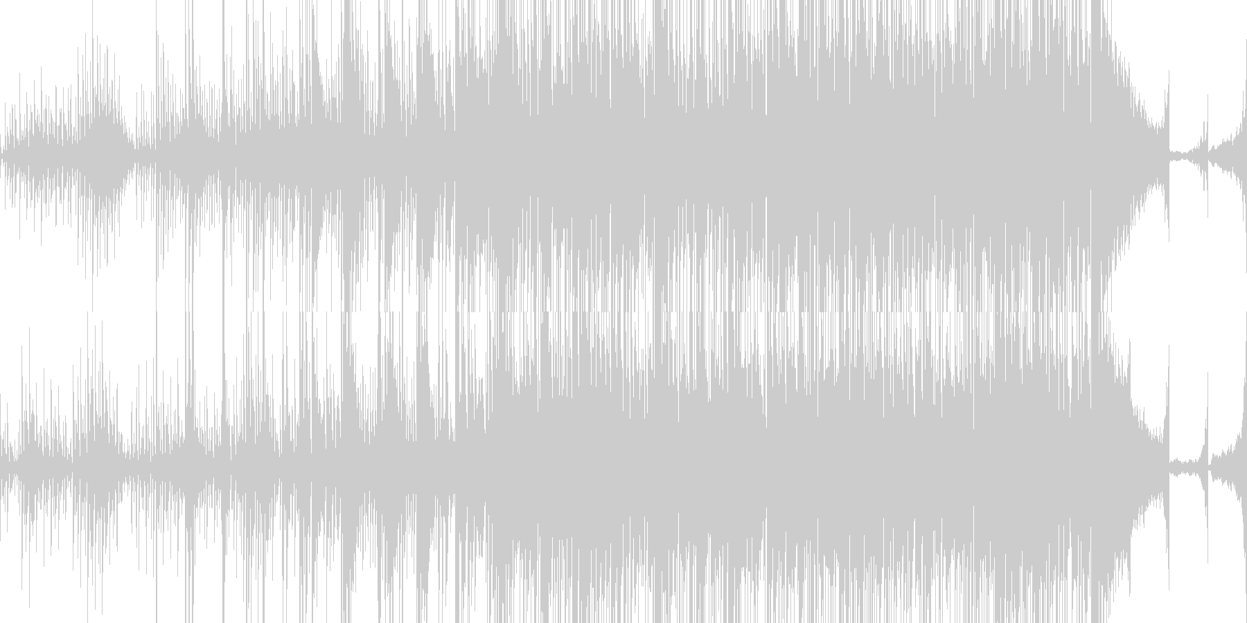 アンビエント ゆっくり 魅惑 透明...の未再生の波形
