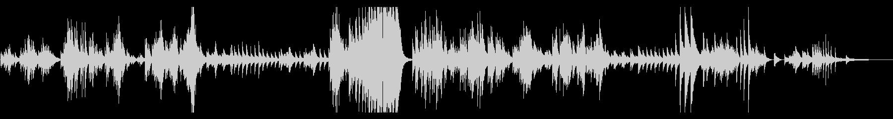 ベートーヴェン ピアノソナタ28番 の未再生の波形