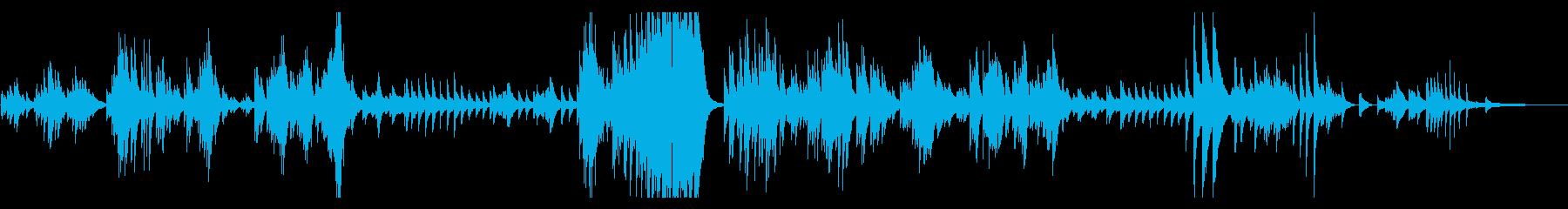 ベートーヴェン ピアノソナタ28番 の再生済みの波形