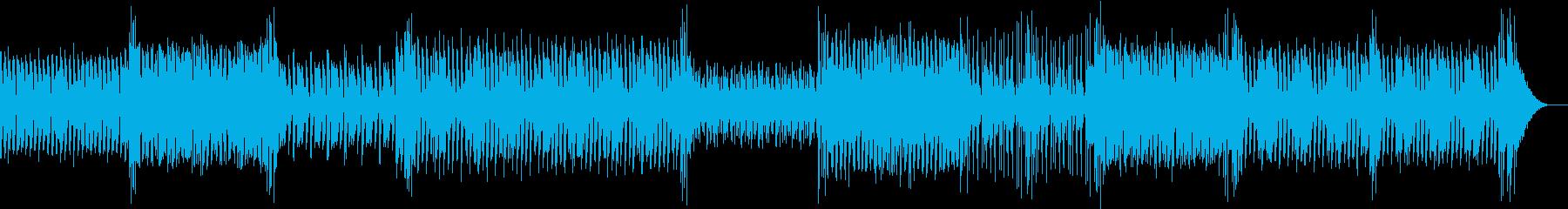 70年代的ディスコ曲の再生済みの波形