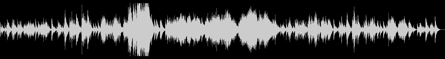 ドビュッシー 月の光 Debussyの未再生の波形