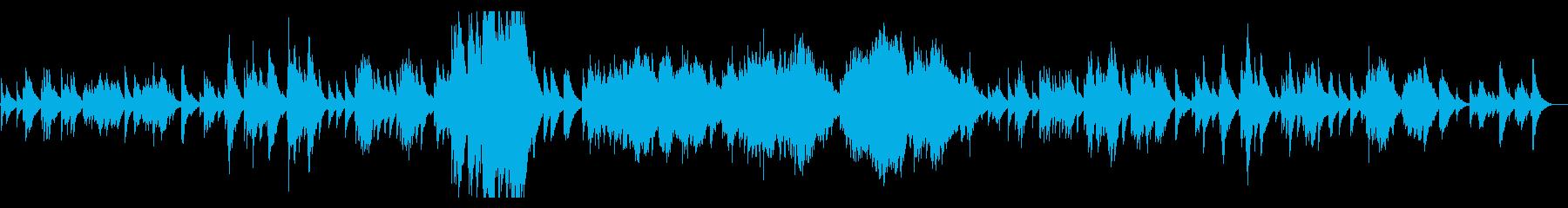 ドビュッシー 月の光 Debussyの再生済みの波形