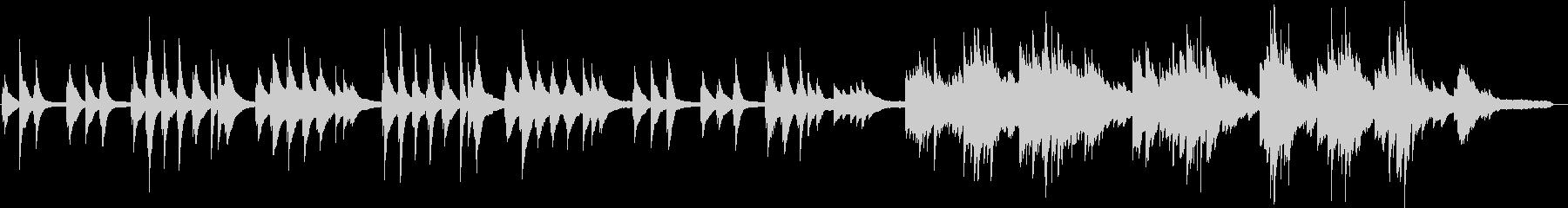 さくら(ピアノカバー)の未再生の波形
