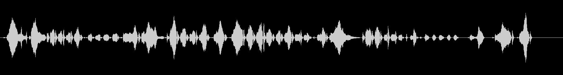 クライチャイルド-2ヶ月-人間の未再生の波形