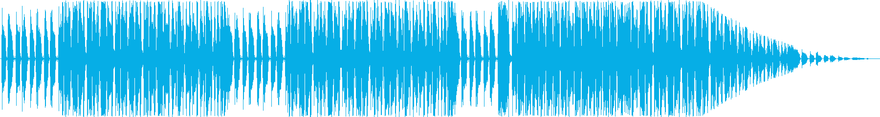 ぽかぽかとした和チックなBGMの再生済みの波形