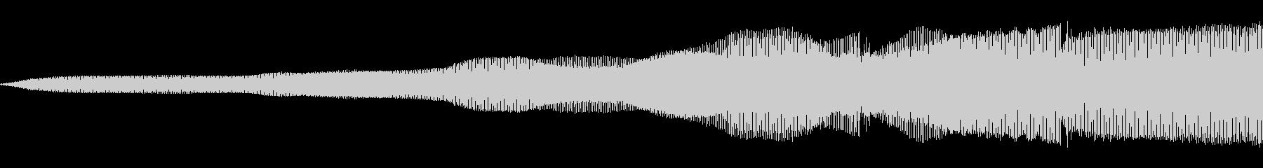 信号グリッチ2の未再生の波形