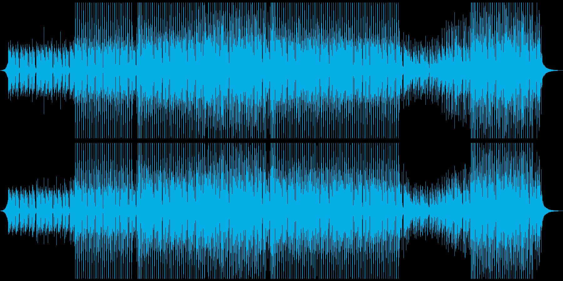 トロピカルの再生済みの波形
