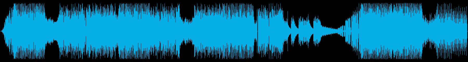 キャッチ―でシリアスなテクノ系EDMの再生済みの波形