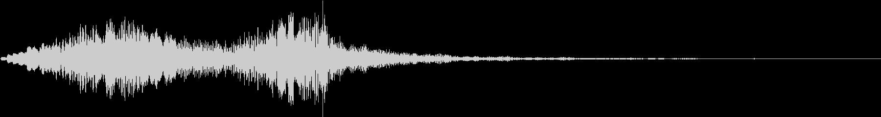 ホラー 近く 接近 恐怖 金属音 06の未再生の波形