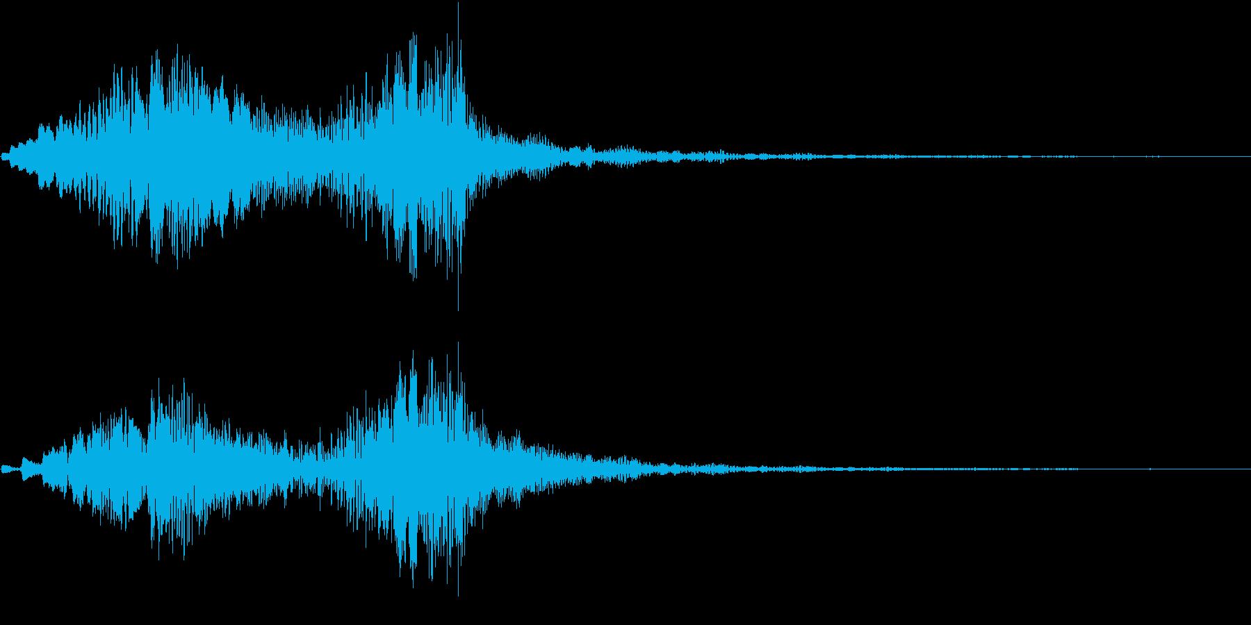 ホラー 近く 接近 恐怖 金属音 06の再生済みの波形