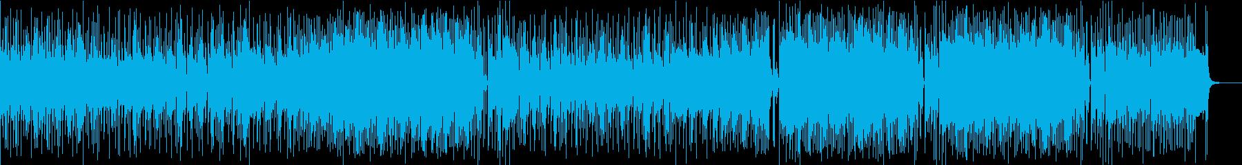 高鳴る気持ちを伝える爽やかなロックの再生済みの波形