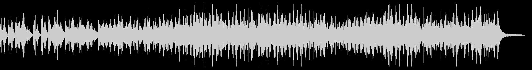 優しくふんわりとしたワルツ ピアノソロの未再生の波形
