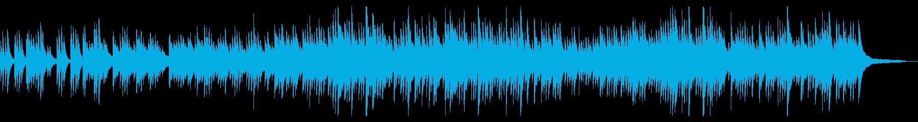 優しくふんわりとしたワルツ ピアノソロの再生済みの波形