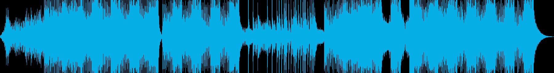 気味な雰囲気放つエスニックテクノ 長尺の再生済みの波形