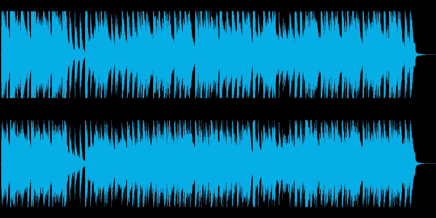 天気予報のような、ほのぼの温かいポップの再生済みの波形