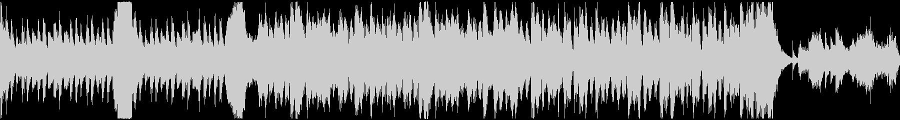 ホラーなオーケストラのループ素材の未再生の波形
