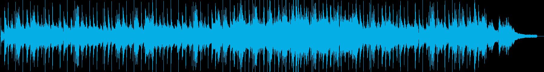 物悲しげなスムースジャズの再生済みの波形