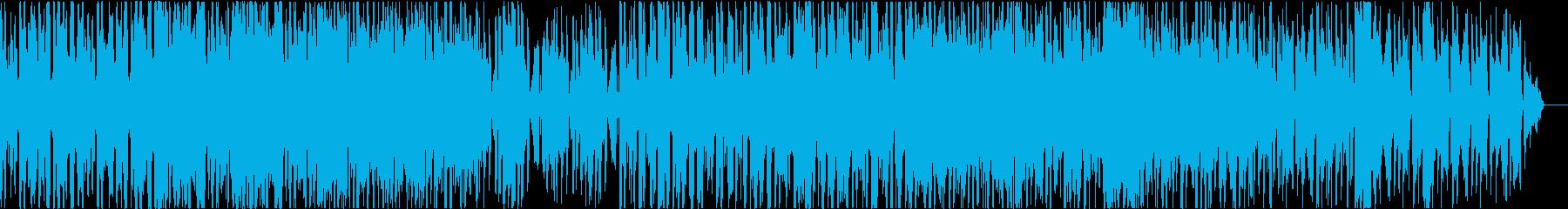 攻撃的エレクトロなインダストリアルメタルの再生済みの波形