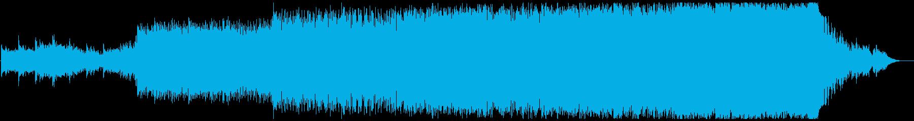 実験的な 広い 壮大 ドラマチック...の再生済みの波形