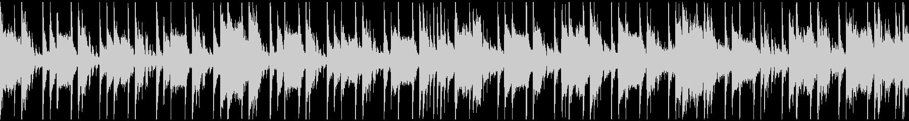 定番曲「スタイリッシュ」A:ループ短の未再生の波形