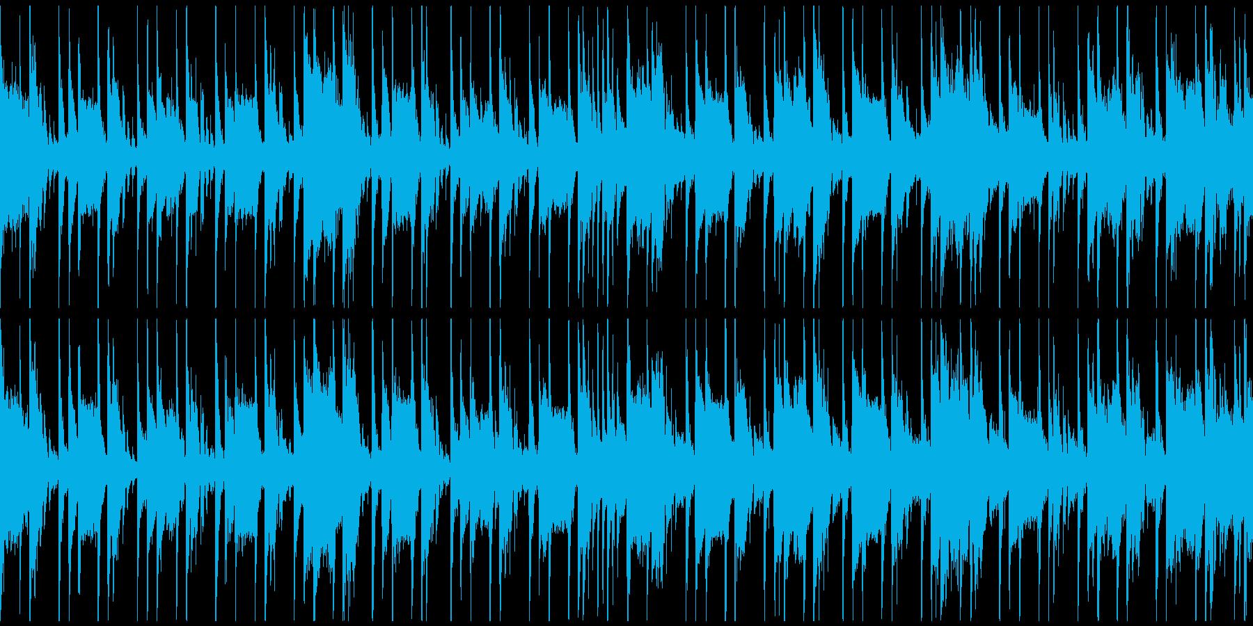 定番曲「スタイリッシュ」A:ループ短の再生済みの波形