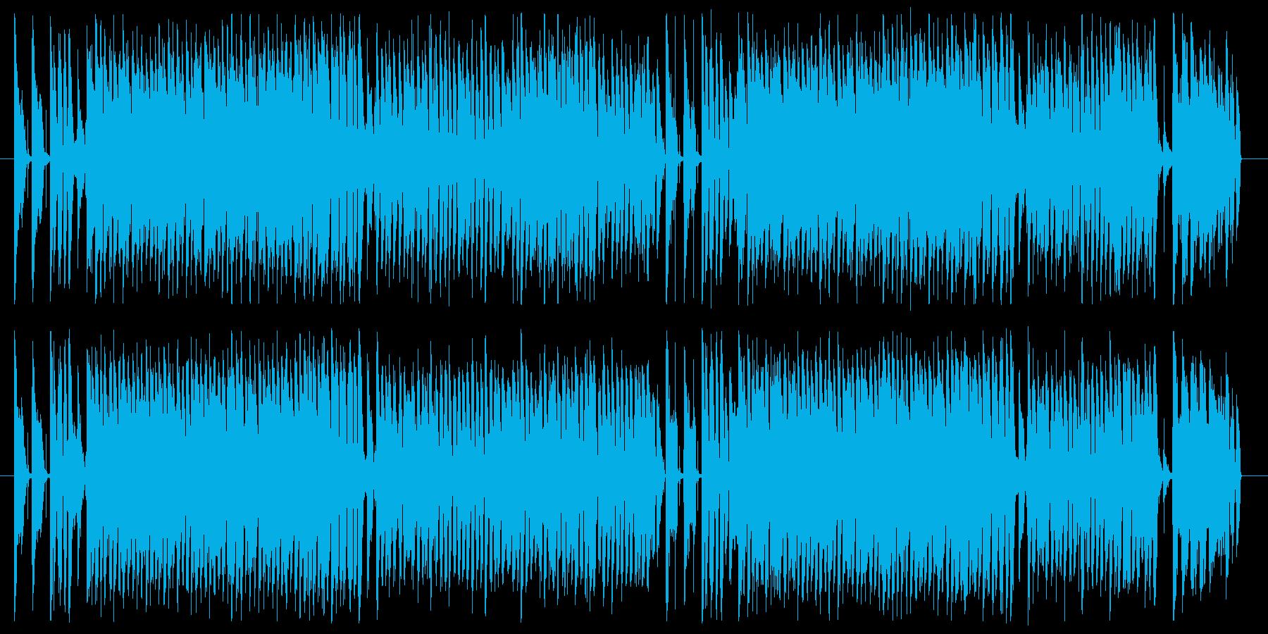 ブギウギ 楽しい コミカル にぎやかの再生済みの波形