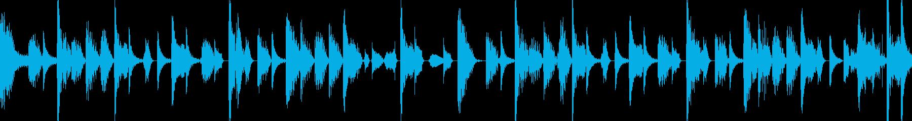 シンキングタイムの再生済みの波形