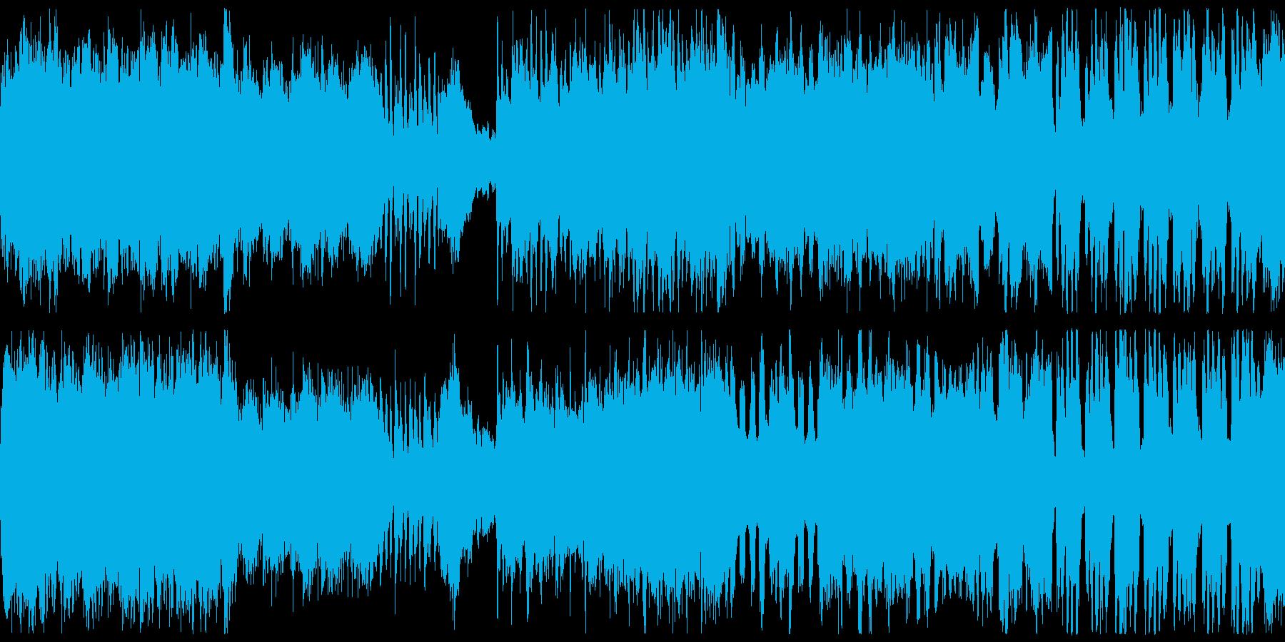 優雅で高貴でクラシカルな明るい曲の再生済みの波形