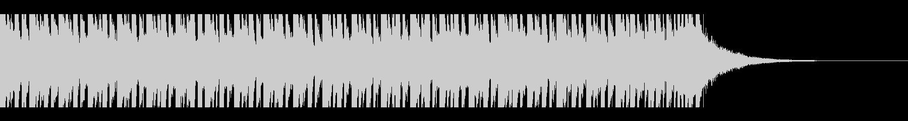 熱帯の夏(30秒)の未再生の波形