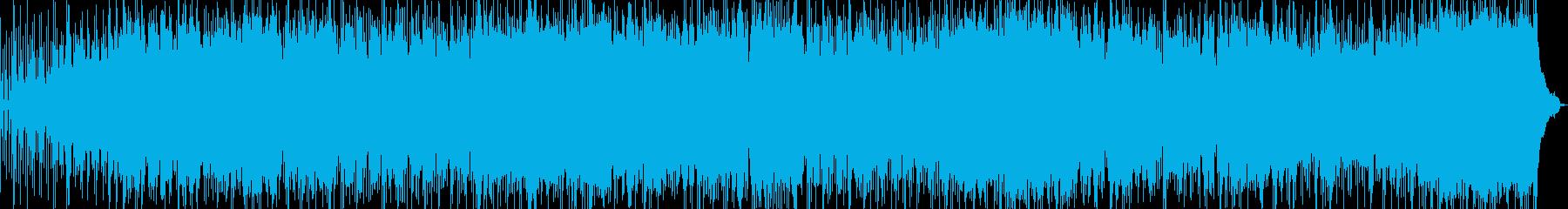 哀愁感漂うBGMの再生済みの波形