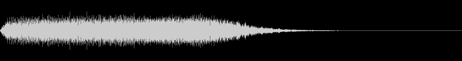Quiz クイズ向け効果音 ポワーン!!の未再生の波形