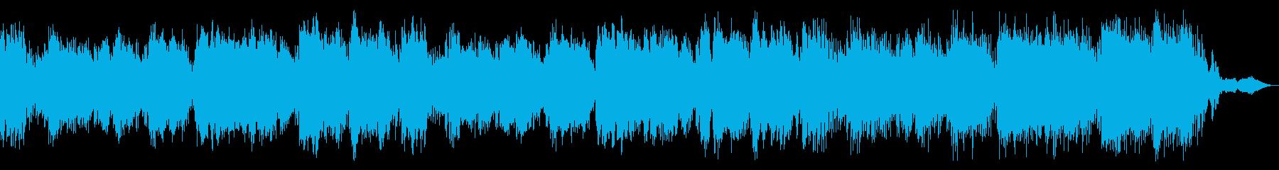 美しく神秘的な深海を流れるようなビオラの再生済みの波形