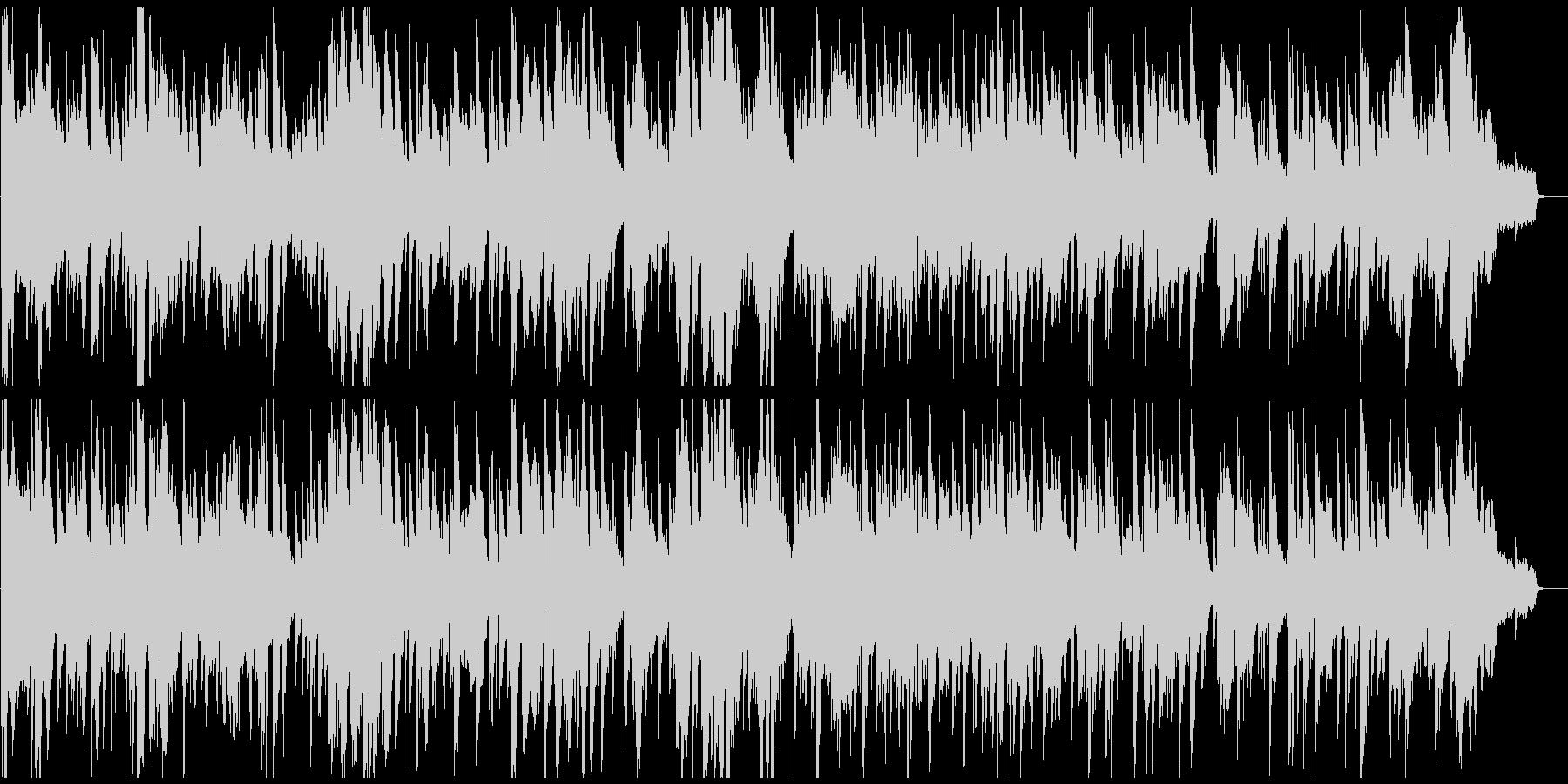 生演奏アルトサックスの耽美な低速ジャズの未再生の波形