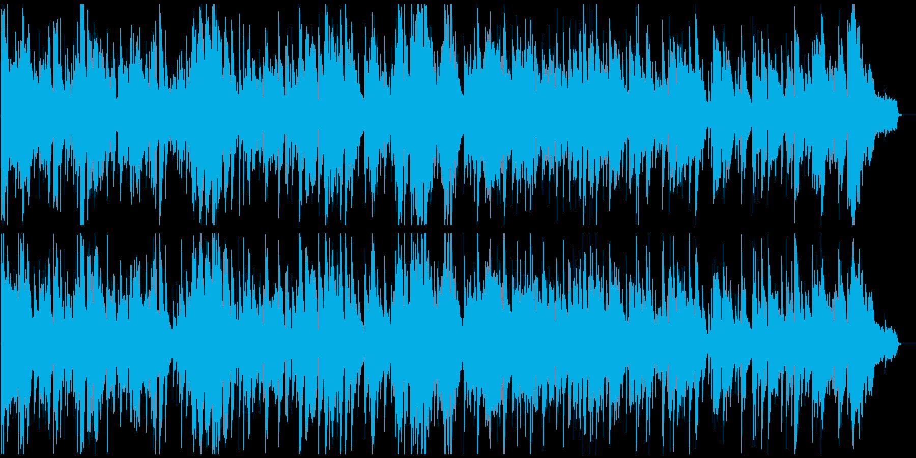 生演奏アルトサックスの耽美な低速ジャズの再生済みの波形