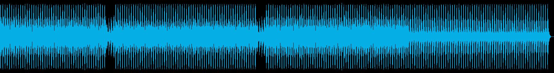 エレクトロハウス。奇妙な、怒っています。の再生済みの波形