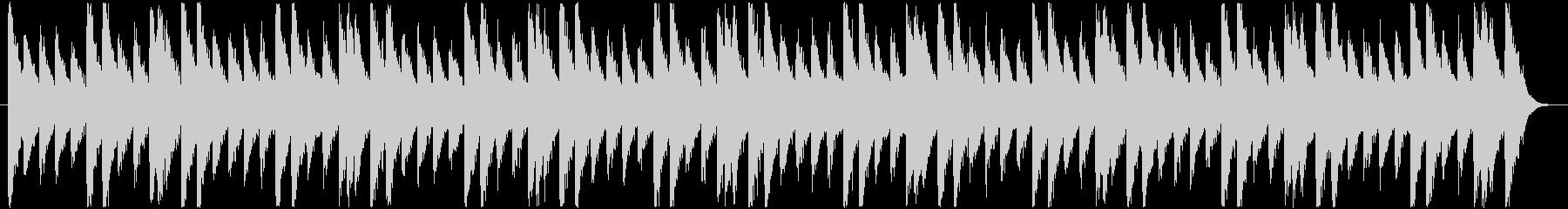 怪しいBGM_チープな感じの未再生の波形